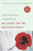 Erich Maria Remarque - All Quiet on the Western Front - 9780099496946 - V9780099496946