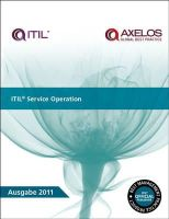 Great Britain: Cabinet Office - ITIL Service Operation - 9780113314034 - V9780113314034