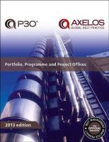 Axelos - Portfolio, programme and project offices - 9780113314225 - V9780113314225