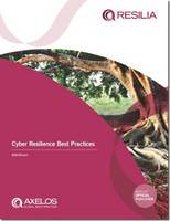 Axelos - Cyber Resilience Best Practices - 9780113314638 - V9780113314638