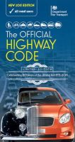 Great Britain: Department for Transport, Driver and Vehicle Standards Agency (DVSA) - The Official Highway Code 2015 - 9780115533426 - V9780115533426