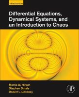 Hirsch, Morris W.; Smale, Stephen; Devaney, Robert L. - Differential Equations, Dynamical Systems, and an Introduction to Chaos - 9780123820105 - V9780123820105