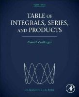 Daniel Zwillinger - Table of Integrals, Series, and Products, Eighth Edition - 9780123849335 - V9780123849335