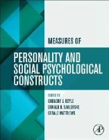 - Measures of Personality and Social Psychological Constructs - 9780123869159 - V9780123869159