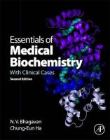 Bhagavan, N. V., Ha, Chung-Eun - Essentials of Medical Biochemistry, Second Edition: With Clinical Cases - 9780124166875 - V9780124166875