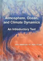 Marshall, John; Plumb, R. Alan - Atmosphere, Ocean and Climate Dynamics - 9780125586917 - V9780125586917