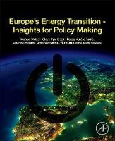 Manuel Welsch - Europe's Energy Transition: Insights for Policy Making - 9780128098066 - V9780128098066