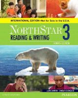 Barton, Laurie - NorthStar Reading and Writing 3 SB, International Edition (4th Edition) - 9780134049762 - V9780134049762