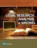 Hames, Joanne Banker; Ekern, Yvonne (DeAnza Community College, Cupertino, California) - Legal Research, Analysis, and Writing - 9780134559841 - V9780134559841