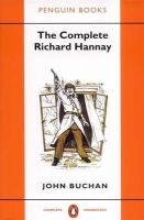 Buchan, John - The Complete Richard Hannay - 9780140170597 - V9780140170597
