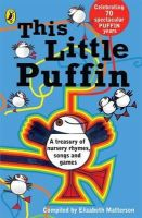 Matterson, Elizabeth - This Little Puffin (Read Alouds) - 9780140340488 - KKW0000744