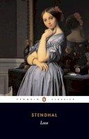 Stendhal - Love (Classics) - 9780140443073 - V9780140443073