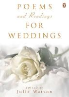 Watson, Julia - Poems and Readings for Weddings - 9780141014951 - V9780141014951