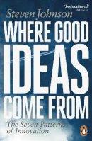 Johnson, Steven - Where Good Ideas Come from - 9780141033402 - V9780141033402