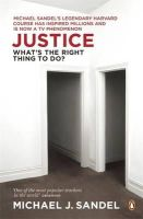 Sandel, Michael J. - Justice: What's the Right Thing to Do? - 9780141041339 - V9780141041339