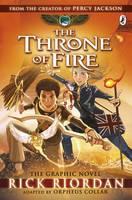Riordan, Rick - The Kane Chronicles: the Throne of Fire: The Graphic Novel - 9780141366586 - V9780141366586