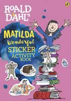 Dahl, Roald - Roald Dahl's Matilda Wonderful Sticker Activity Book - 9780141376714 - V9780141376714