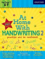 Ackland, Jenny - At Home with Handwriting 2 - 9780192733382 - V9780192733382