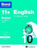Lindsay, Sarah - Bond 11+: English: 10 Minute Tests: 8-9 Years - 9780192740526 - V9780192740526