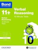 Down, Frances - Bond 11+: Verbal Reasoning: 10 Minute Tests: 8-9 Years - 9780192740670 - V9780192740670