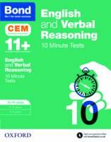 Hughes, Michellejoy, Bond - Bond 11+: English & Verbal Reasoning: CEM 10 Minute Tests: 10-11 Years - 9780192746832 - V9780192746832