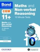 Hughes, Michellejoy, Bond - Bond 11+: Maths & Non-Verbal Reasoning: CEM 10 Minute Tests: 8-9 Years - 9780192746849 - V9780192746849