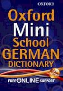 Oxford Dictionaries - Oxford Mini School German Dictionary - 9780192757104 - V9780192757104
