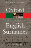 Reaney, Percy H. - Dictionary of English Surnames - 9780192806635 - V9780192806635