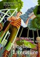 - The Oxford Companion to English Literature - 9780192806871 - V9780192806871
