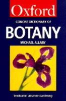 - The Concise Oxford Dictionary of Botany (Oxford Reference) - 9780192860941 - KTJ0025516