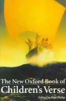 - The New Oxford Book of Children's Verse - 9780192881076 - V9780192881076