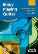 Cracknell, Debbie - Enjoy Playing Guitar, Tutor Book 2 + CD - 9780193381407 - V9780193381407