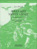 Bach, Johann Sebastian - Sheep May Safely Graze - 9780193870819 - V9780193870819