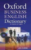 - Oxford Business English Dictionary for Learners of English - 9780194316170 - V9780194316170
