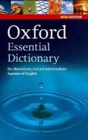 Waters, Alison, Collectif - Oxford Essential Dictionary - 9780194333993 - V9780194333993