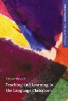 Hedge, Tricia - Teaching and Learning in the Language Classroom - 9780194421720 - V9780194421720