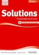 - Solutions: Pre-intermediate: Teacher's Book and CD-ROM Pack - 9780194553711 - V9780194553711