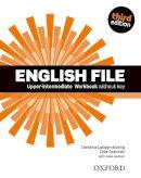 LATHAM KOENIG, CHRISTINA - English File third edition: Upper-intermediate: Workbook without Key - 9780194558495 - V9780194558495