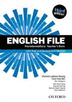 Latham-Koenig, Christina, Oxenden, Clive, Seligson, Paul, Collectif - English File: Pre-intermediate: Teacher's Book with Test and Assessment CD-ROM (French Edition) - 9780194598750 - V9780194598750