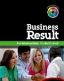 NA - Business Result: Pre-intermediate: Student's Book with DVD-ROM and Interactive or Online Workbook - 9780194739382 - V9780194739382
