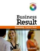 Hughes, John, Wilden, Shaun - Business Result DVD Edition: Elementary: Teacher's Book Pack - 9780194739429 - V9780194739429
