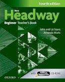 Soars, John, Soars, Liz, Maris, Amanda - New Headway: Beginner: Teacher's Book + Teacher's Resource Disc (French Edition) - 9780194771115 - V9780194771115