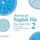 Oxenden, Clive, Latham-Koenig, Christina, Seligson, Paul - American English File 2 Class CDs - 9780194774451 - V9780194774451