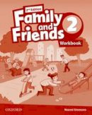 NA - Family and Friends: Level 2: Workbook - 9780194808040 - V9780194808040
