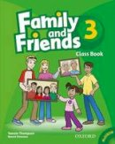 Thompson, Tamzin, Simmons, Naomi - Family and Friends 3: Class Book and MultiROM Pack (French Edition) - 9780194812313 - V9780194812313