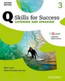 - Q Skills for Success: Level 3: Listening & Speaking Student Book with IQ Online - 9780194819046 - V9780194819046