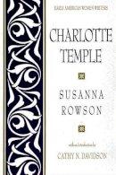 Rowson, Susanna - Charlotte Temple - 9780195042382 - V9780195042382