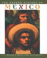 Michael C Meyer - The Oxford History of Mexico - 9780195112283 - KEX0275756