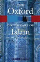 - The Oxford Dictionary of Islam - 9780195125597 - V9780195125597