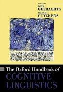 - The Oxford Handbook of Cognitive Linguistics - 9780195143782 - V9780195143782